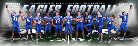 Friday Lights v.2 - Team Panoramic-Photoshop Template - Photo Solutions
