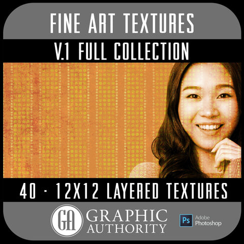 Fine Art V.1 - 12x12 Layered Textures - Full Collection