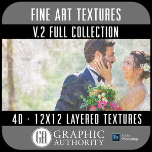 Fine Art V.2 - 12x12 Layered Textures - Full Collection