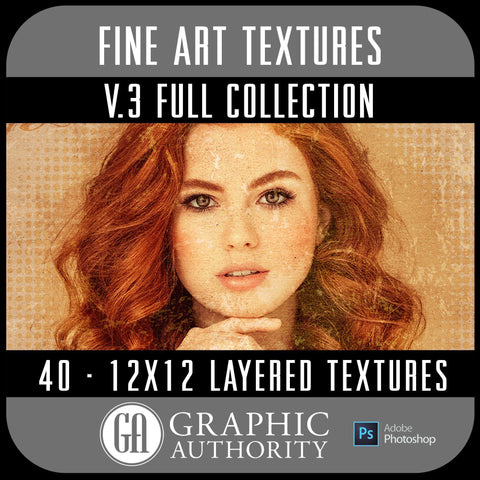 Fine Art V.3 - 12x12 Layered Textures - Full Collection