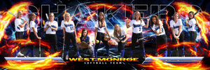 Fire & Ice v.3 - Team Panoramic Photoshop Template -  PSMGraphix
