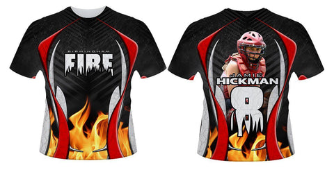 Fire v.1 - Sportswear Downloadable Template Photo Solutions PSMGraphix