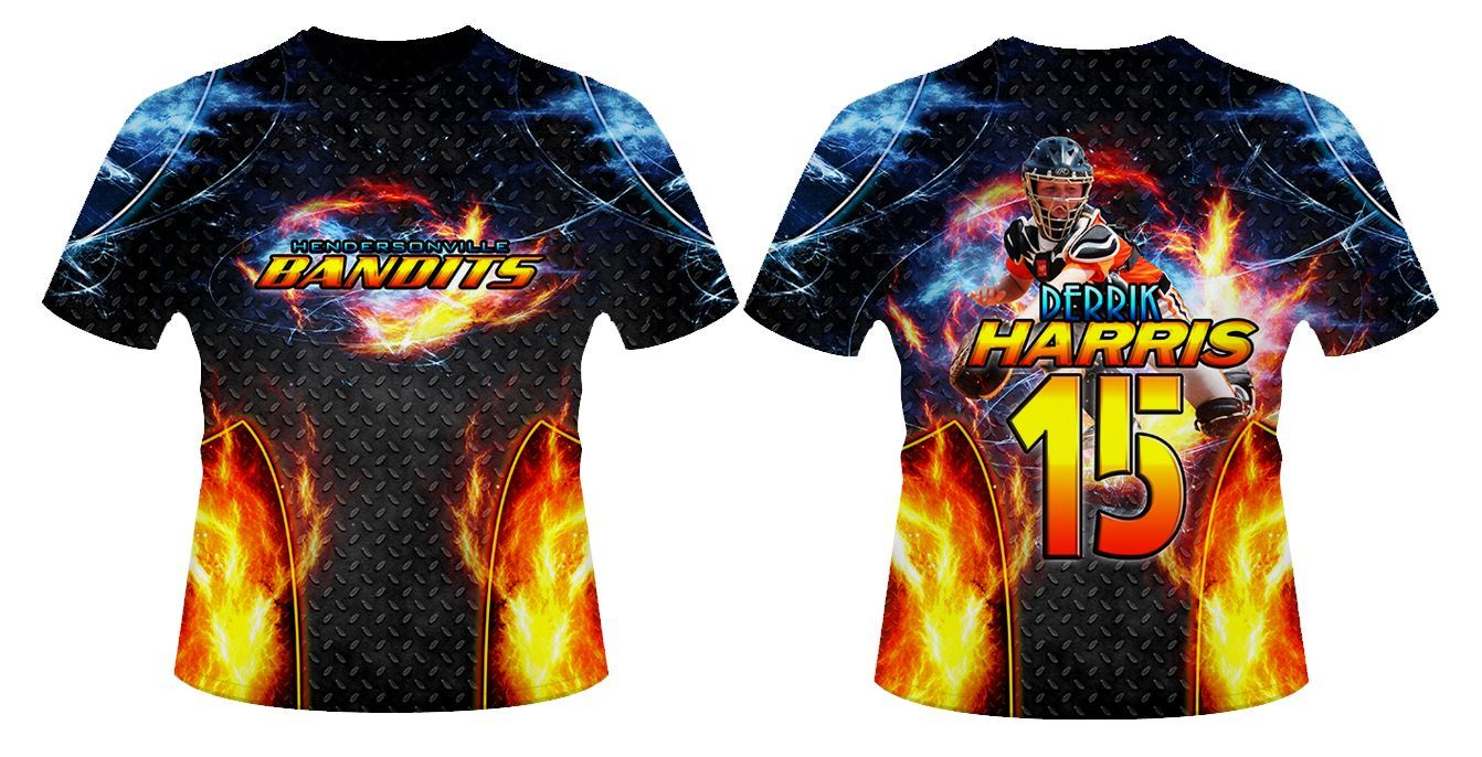 Fire & Ice v.3 - Sportswear Downloadable Template Photo Solutions PSMGraphix