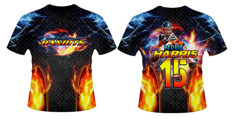 Fire & Ice v.3 - Sportswear-Photoshop Template - Photo Solutions