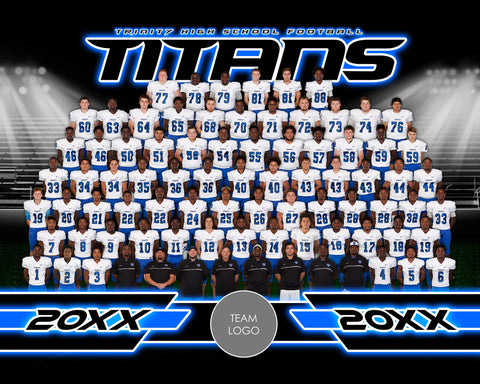 Friday Lights v.2-2 - Xtreme Team Photoshop Template-Photoshop Template - Photo Solutions