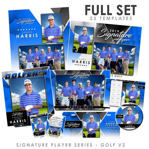 Signature Player - Golf - V2 - T&I Drop-In Collection