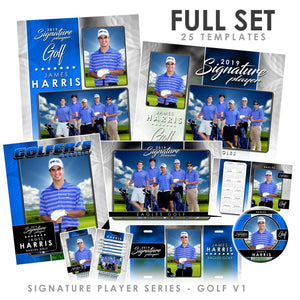 Signature Player - Golf - V1 - T&I Drop-In Collection