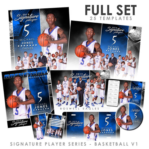 Signature Player - Basketball - V1 - T&I Extraction Collection