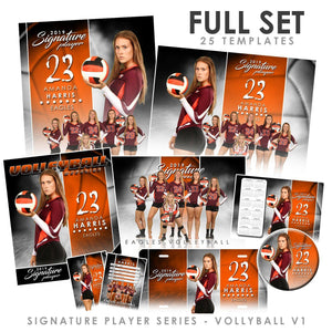 Signature Player - Volleyball - V1 - T&I Extraction Collection
