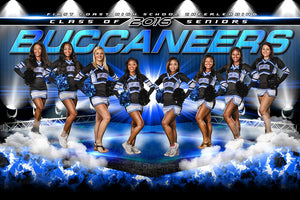 Cheer Stage - GroundBreaker - Team Poster/Banner Photoshop Template -  PSMGraphix