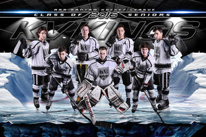 Cracked Ice V.2 - GroundBreaker - Team Poster/Banner-Photoshop Template - Photo Solutions