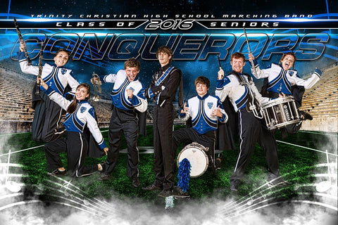 Marching Band - GroundBreaker - Team Poster/Banner