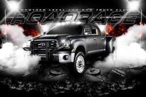Road Rage V.2 - GroundBreaker - Team Poster/Banner-Photoshop Template - Photo Solutions