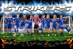 Striker Goal - GroundBreaker - Team Poster/Banner
