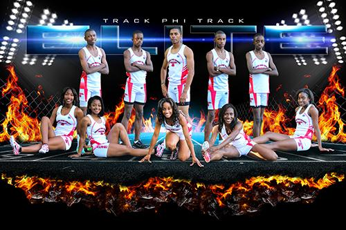 Tracked Down - GroundBreaker - Team Poster/Banner-Photoshop Template - Photo Solutions