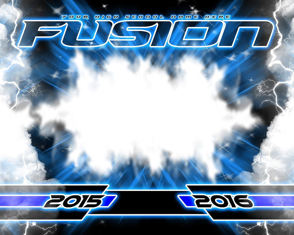 Fusion v.5 - Xtreme Team Downloadable Template Photo Solutions PSMGraphix