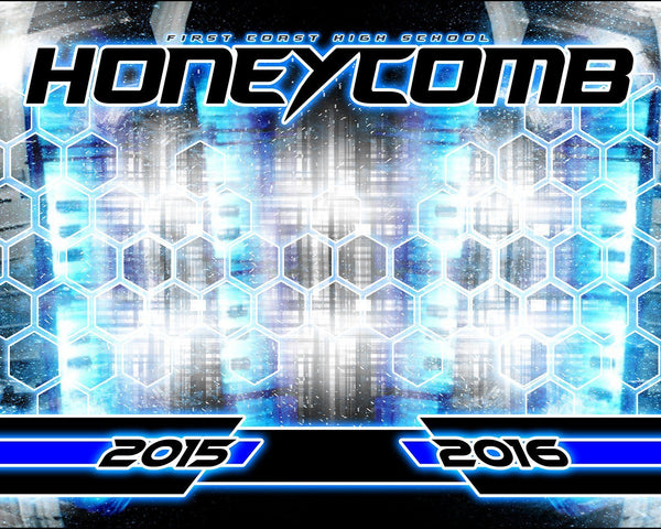 Honeycomb v.5 - Xtreme Team Downloadable Template Photo Solutions PSMGraphix
