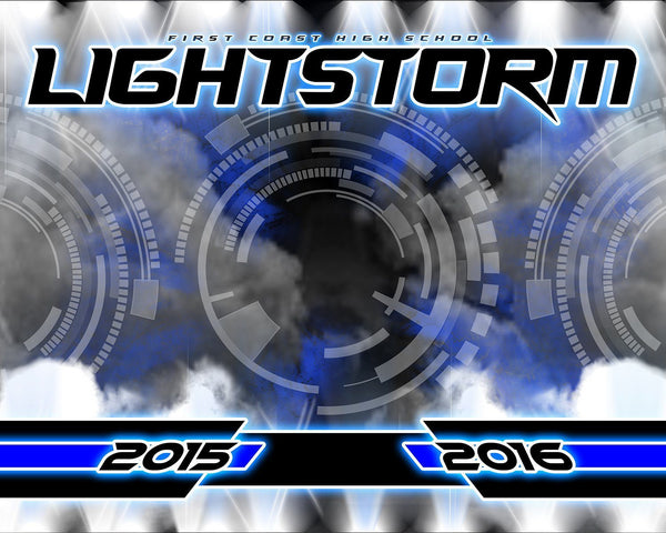 Light Storm v.5 - Xtreme Team-Photoshop Template - Photo Solutions