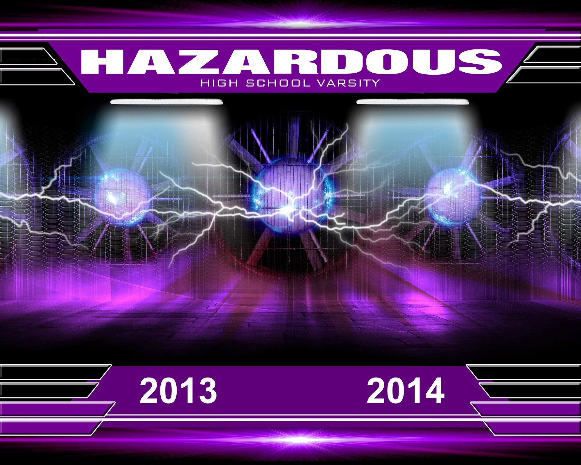 Hazardous v.2 - Xtreme Team Downloadable Template Photo Solutions PSMGraphix