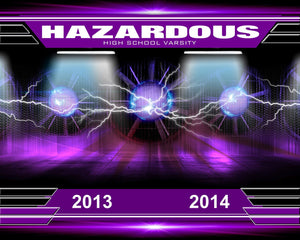 Hazardous v.2 - Xtreme Team-Photoshop Template - Photo Solutions