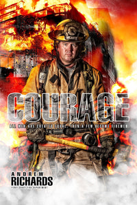 Fireman - V.1 - Heroes Series - Poster/Banner-Photoshop Template - Photo Solutions