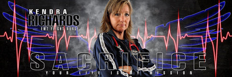 EMT Flight Nurse- V.3 - Poster/Banner Panoramic
