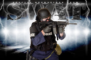 SWAT - V.3 - Heroes Series - Poster/Banner H-Photoshop Template - Photo Solutions