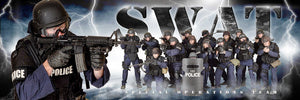 SWAT - V.3 - Poster/Banner Panoramic-Photoshop Template - Photo Solutions