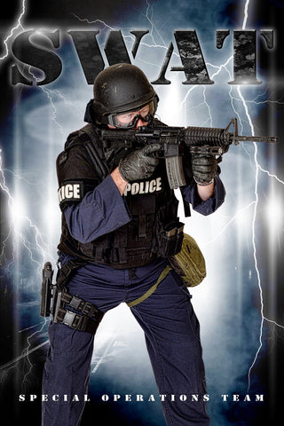 SWAT - V.3 - Heroes Series - Poster/Banner-Photoshop Template - Photo Solutions