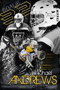 Hockey v.5 - Action Extraction Poster/Banner Downloadable Template Photo Solutions PSMGraphix