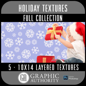 Holiday - 10x14 Layered Textures - Full Collection