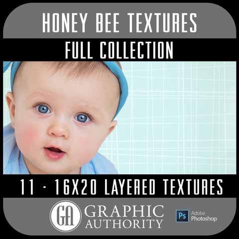 Honey Bee - 16x20 Layered Textures - Full Collection