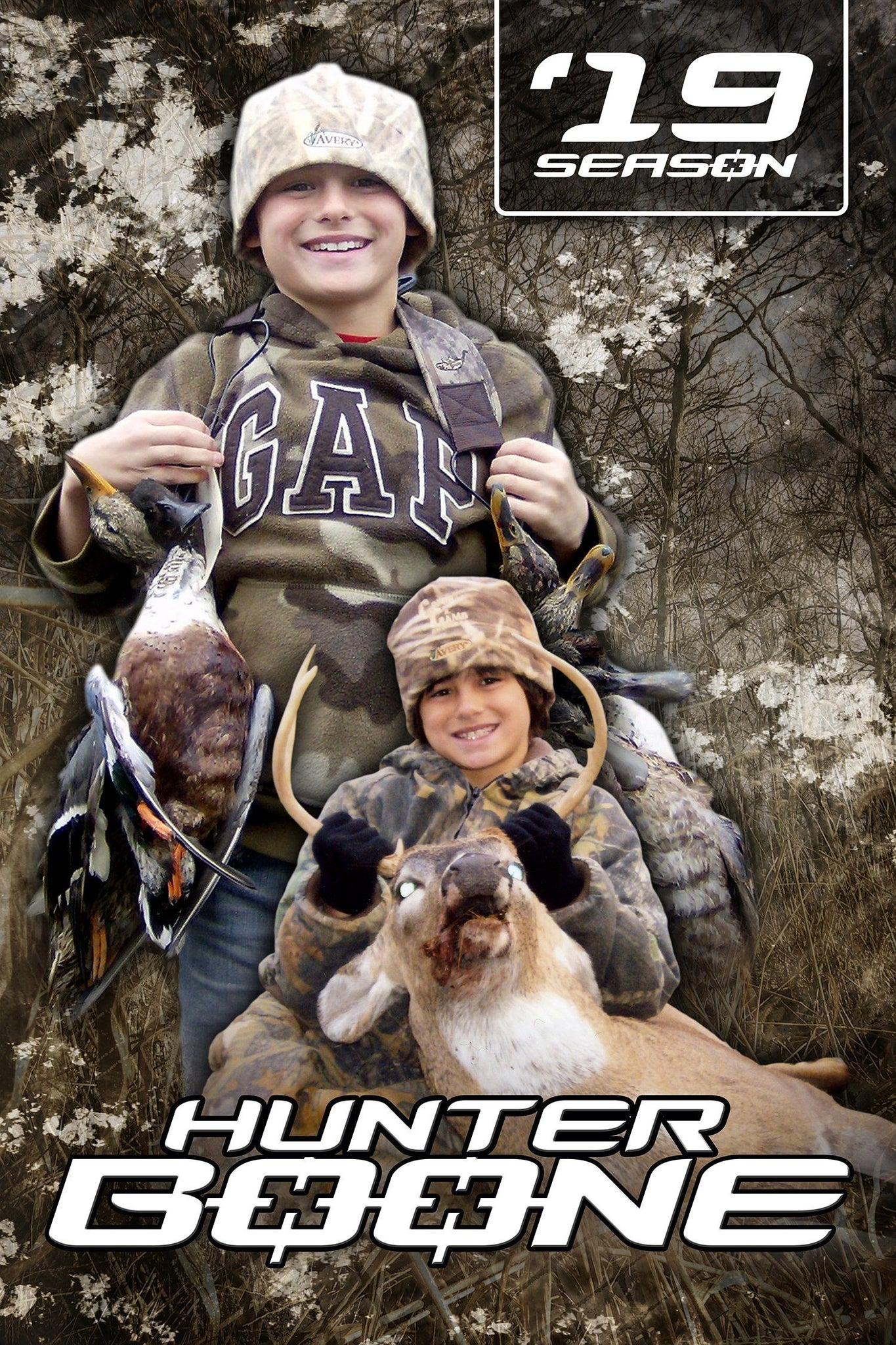 Hunting v.2 - Action Extraction Poster/Banner-Photoshop Template - Photo Solutions