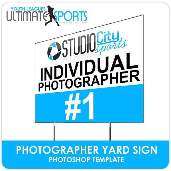 Photo Day Signs - Ultimate Youth Sports Marketing Templates-Photoshop Template - Photo Solutions