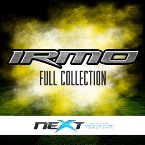 01 Full Set - IRMO Collection Photoshop Template -  PSMGraphix