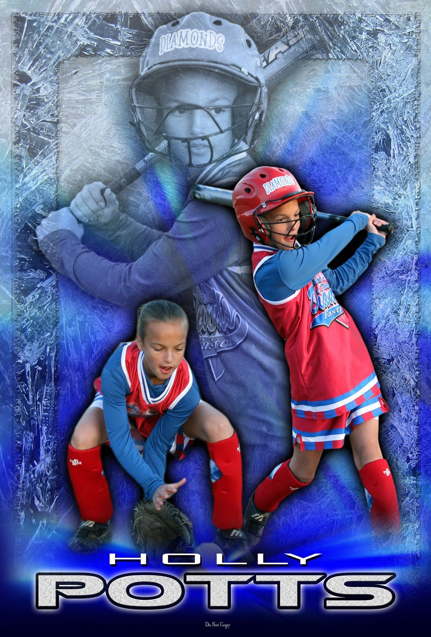 Ice v.1 - Action Extraction Poster/Banner Downloadable Template Photo Solutions PSMGraphix