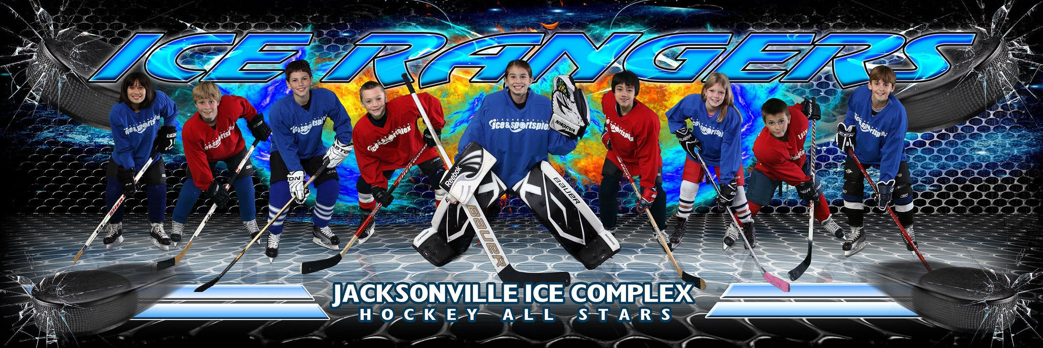 Ice v.3 - Team Panoramic Downloadable Template Photo Solutions PSMGraphix