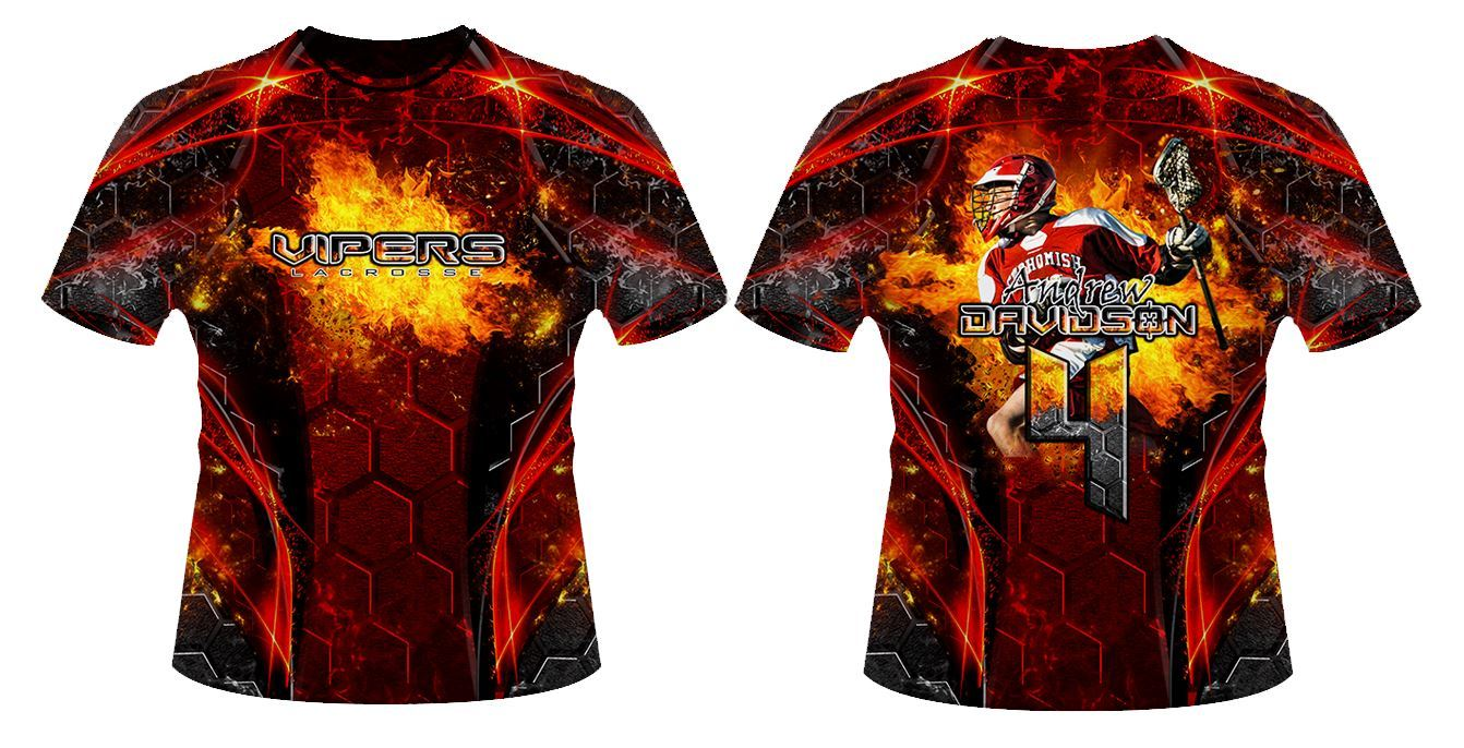Inferno v.3 - Sportswear Downloadable Template Photo Solutions PSMGraphix