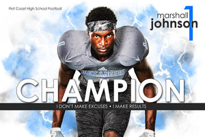 Champion - Inspire Series - Poster/Banner H-Photoshop Template - Photo Solutions