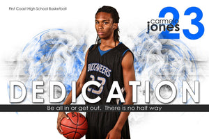 Dedication - Inspire Series - Poster/Banner H Downloadable Template Photo Solutions PSMGraphix