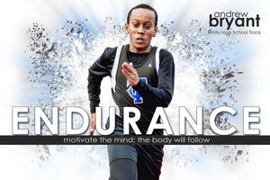 Endurance - Inspire Series - Poster/Banner H-Photoshop Template - Photo Solutions