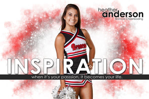 Inspiration - Inspire Series - Poster/Banner H-Photoshop Template - Photo Solutions
