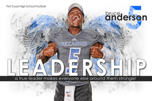 Leadership - Inspire Series - Poster/Banner H-Photoshop Template - Photo Solutions