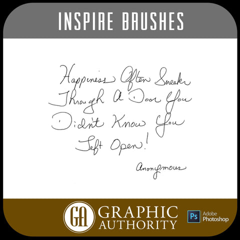 Inspire Collection Photoshop ABR Brushes-Photoshop Template - Graphic Authority