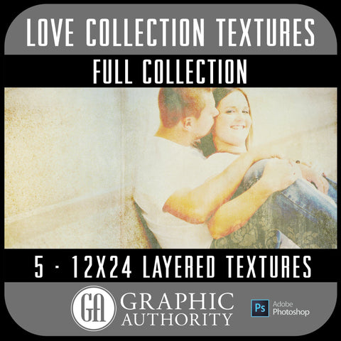 Love - 12x24 Layered Textures - Full Collection