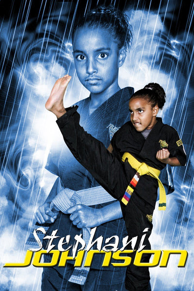 Rain Storm - Martial Arts Series - Poster/Banner V-Photoshop Template - Photo Solutions
