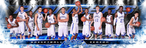 Fast Break - MVP Series - Panoramic-Photoshop Template - Photo Solutions