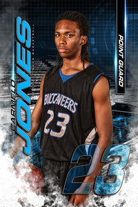 FastBreak - MVP Series - Player Banner & Poster Template V-Photoshop Template - Photo Solutions
