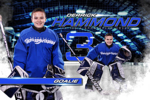 Ice - MVP Series - Player Banner & Poster Template H-Photoshop Template - Photo Solutions