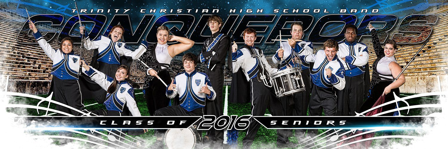Marching Band - MVP Series - Panoramic-Photoshop Template - Photo Solutions